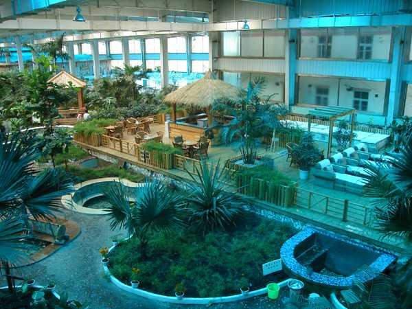 汤山疗养院温泉