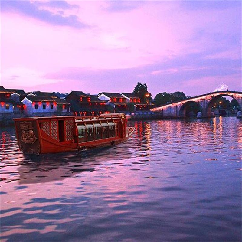 杭州京杭大运河夜游(17:00之前预定)